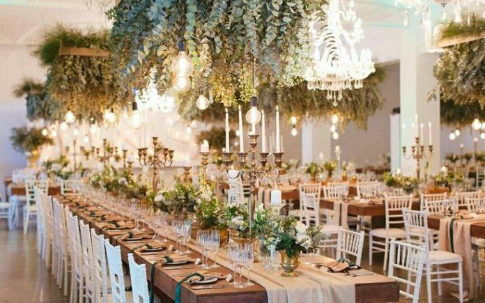 Nhà hàng tiệc cưới HCM với chủ đề thu đông ấm áp